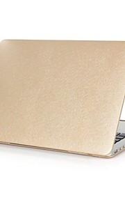 """jedwab luksus twardy futerał skóra pokrywa wzór muszli przystawki na skórze ochronny dla MacBook Pro 13 """"/ 15"""""""