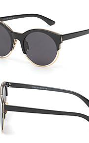 Solbriller kvinder's Moderne / Mode Katøje Sølv / Guld Solbriller Halvkant