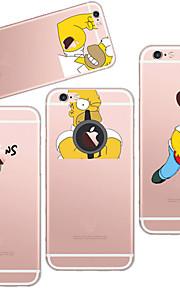 maycari®the stattlicher sinpson transparente TPU Tasche für iPhone 5 / iphone 5s (verschiedene Farben)
