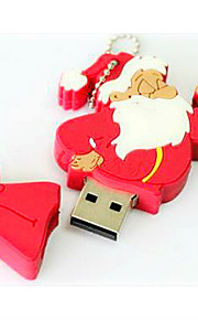 10x kerstman usb-stick, cartoon kwaliteit flash drive kerst cadeau idee 8gb