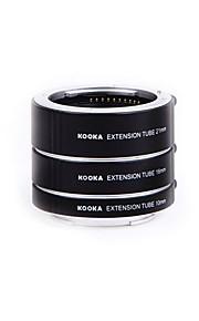 Kooka kk-se47a tubos de extensão af alumínio macro para sony e-montagem da lente NEX-5N nex6 NEX-7 A6000 A3000 A5000