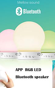 App langaton bluetooth kaiutin sovellus ohjaus värikäs muuttunut led-valot tukevat U-disck ja TF kortti ulkona kaiutin