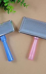 pettine colori di grandi dimensioni di plastica della maniglia pettine pet pettine
