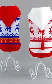 FUN OF PETS® Lovely Christmas Reindeer Pattern Warm Sweater with Hoodie Dogs Clothings for Pets Dogs Clothes