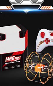 trancinhas M66 4ch 6 eixo 2.4G drones vermelho / laranja