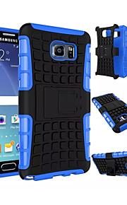 2 en 1 double couleur détachable pc + TPU hybride avec béquille pour Samsung Galaxy Note 3 / note 4 / note 5 / la note 5 bord
