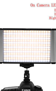 porfessional regulável 160 levou na câmera luz jyled-160s bi-color luz do dia&tungstênio fotografia luz de vídeo estúdio