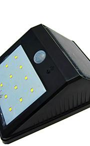 høy kvalitet solenergi 12 LED lys vanntett menneskekroppen induksjon lampe / vegglampe / hage gårds lampe