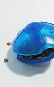 Cães Brinquedos Interativo Alimentador Automático Plástico Vermelho / Verde / Azul