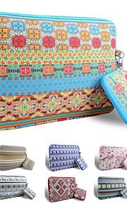 smith Sursee ® tragen Laptop-Hülle Canvas-Gewebe von 13 bis 13,3 Zoll (floral)