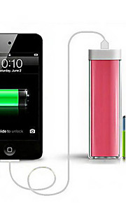 2200mAh Portable Power Bank External Battery for iphone 6S/6 plus/5S/Samsung S4/S5/Note2