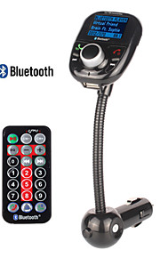 Car MP3 Audio Player Bluetooth FM Transmitter With Remote Control Wireless FM Modulator Car Kit HandsFree USB Charger