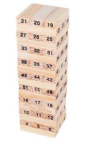 mini Wiss legetøj balance 54 træklodser legetøj