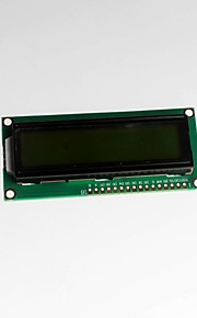 1602A Green Green Green Screen 5V LCD Screen With Backlit White Font LCD1602