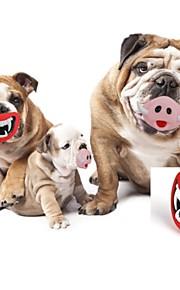 Cães / Gatos Brinquedos Brinquedos para roer Durável Borracha Vermelho / Rosa