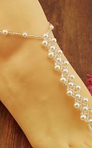 Bryllup / Party / Daglig - Ankel ( Imiteret Perle / Glas )