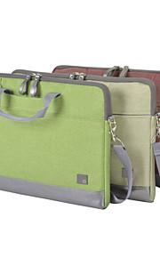 Fashion Business Shoulder Notebook Computer Bag Handle Bag for Macbook Air/Pro 15.4