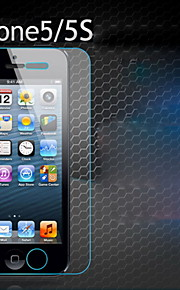 iPhone 5 / 5S / 5Cのための1個強化ガラス透明なフロントスクリーンフィルム