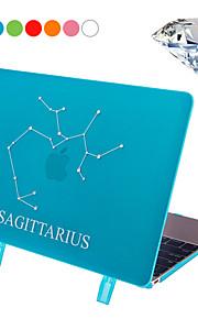 "Sagittarius Style Protective PC Hard Case Cover with Swarovski Crystal Diamond/Stand for Macbook Retina 12"""