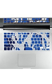 "camouflage design tastatur cover skin til MacBook 13 ""/ 15"" luft pro nethinden"