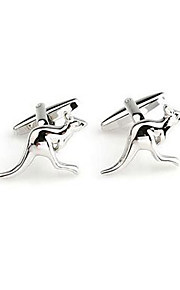 Men's Stainless Steel Square Metal Business Shirt Cufflinks Wedding Jewelry