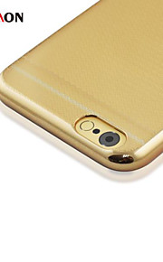 honeycomb elektroplet pc med tilbage tilfældet for iphone6 plus / 6s plus (assorterede farver)