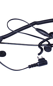 Baiston BST-M Professional Curve Tactical Walkie Talkie Headset with Extension Rod and Interface of M