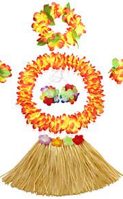 Carnaval - para Niño - Disfraces Burlesques - Disfraces - Vestido / Tocados / Sujetadores / Pulsera / Collar -