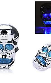 7-mode Skull Waterproof Bicycle Rear/Tail Light Cycling Warning Light