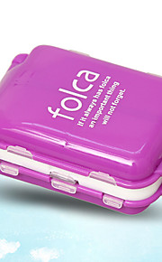 Travel Pill Box/CaseForTravel Accessories for Emergency Plastic 10 x 6.5 x 3.5