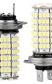 2 x HL7 pære lampe 3528 SMD lysdioder 120 hvitt 12v bil