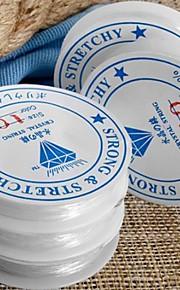 5pcs roll elastisk gummi beading snor tråd snor 1mm hot