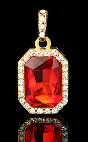vilam® fire form luksus 18K forgyldt rhinestone glas gyldne vedhæng