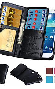 magnetica 2 in 1 caso di cuoio del raccoglitore per Samsung Galaxy S4 / S5 / S6 / S6 bordo / bordo S6 + / s7 s7 bordo / bordo / s7 più