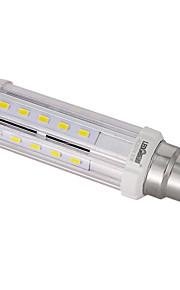 10W E14 / B22 / E26/E27 LED-kornpærer T 32PCS SMD 5730 100LM/W lm Varm hvit / Naturlig hvit Dekorativ AC 85-265 V 1 stk.