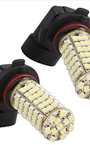 2 i 1 3528smd HB4 / 9006 120 hvitt led lights 12v