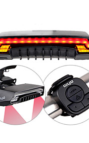 GIYO Bycycle Tail Light -R1 Rear Bike Light  Waterproof / Rechargeable USB  Wireless Romote Contoller Laser