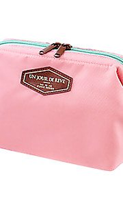 Travel Toiletry Bag / Inflated Mat Portable Travel Storage Fabric Blue / Pink / Orange