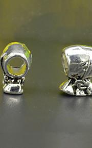 DIY beaded armbånd halskæde sølv plating tilbehør retro lampwork perler hac0063 pung miskredit