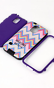 Dual Layer Silicone & Hard Plastic 3 In 1 Armor Hybrid Protection Back Case For Samsung Galaxy S5 Cell Phone Cover