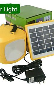 hry® kald hvit farge multi-bruk ledet solenergi lykt lys lampe usb strøm bank for camping hikingg