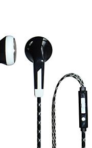 atacado de alta qualidade fones de ouvido estéreo baixo com fone de ouvido microfone universal para iphone Xiaomi Huawei etc todos