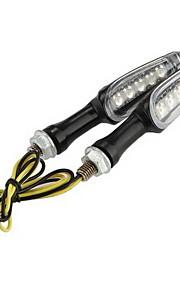 Motorrad 2x 5 LED-Signalleuchte gelb leuchtet für Suzuki Bandit drehen jsled-011