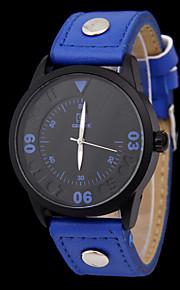 versão light dos homens da nova tendência da versão luz dos simples relógios Movimento de quartzo