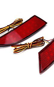 1W ledet baklys lampe 13 2stk rød Ford Focus bil