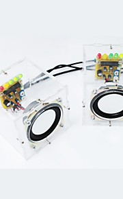 DIY Mini Amplifier Speaker Kit Transparent Speaker