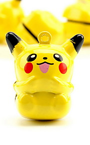 Pikachu Cartoon Pure Copper Pet Pendant Bell(1 PCS 3cm)