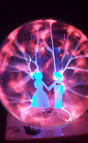 magic glass plasma ball kule elskere 4-tommers elektronisk magisk ball kreative håndverk ornamenter bursdagsgave for barn