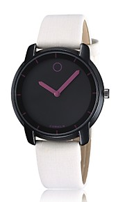 Unisex Fashion Watch Comely Korean Fashion Casual Leather Men Watch Simple Dial Quartz Watch  (Assorted Colors)