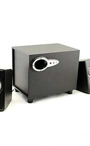 jituo tre subwoofer USB Power 2,1 spearker for datamaskinen ipad ipod og tablet jt2806yx